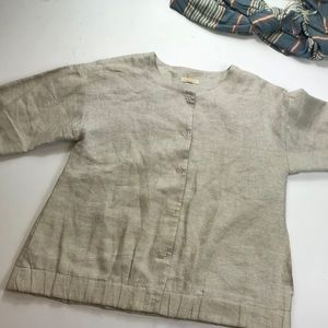 Eileen Fisher Linen Jacket